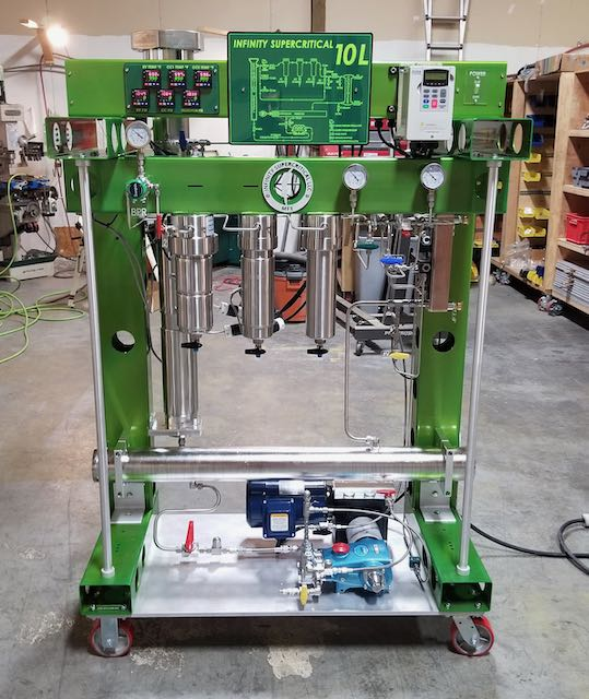 supercritical co2 extractor by infinity supercritical