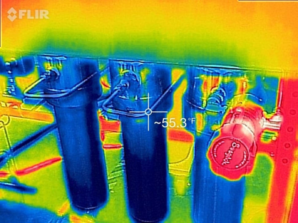FLIR tech for flow evaluation in supercritical co2 operations