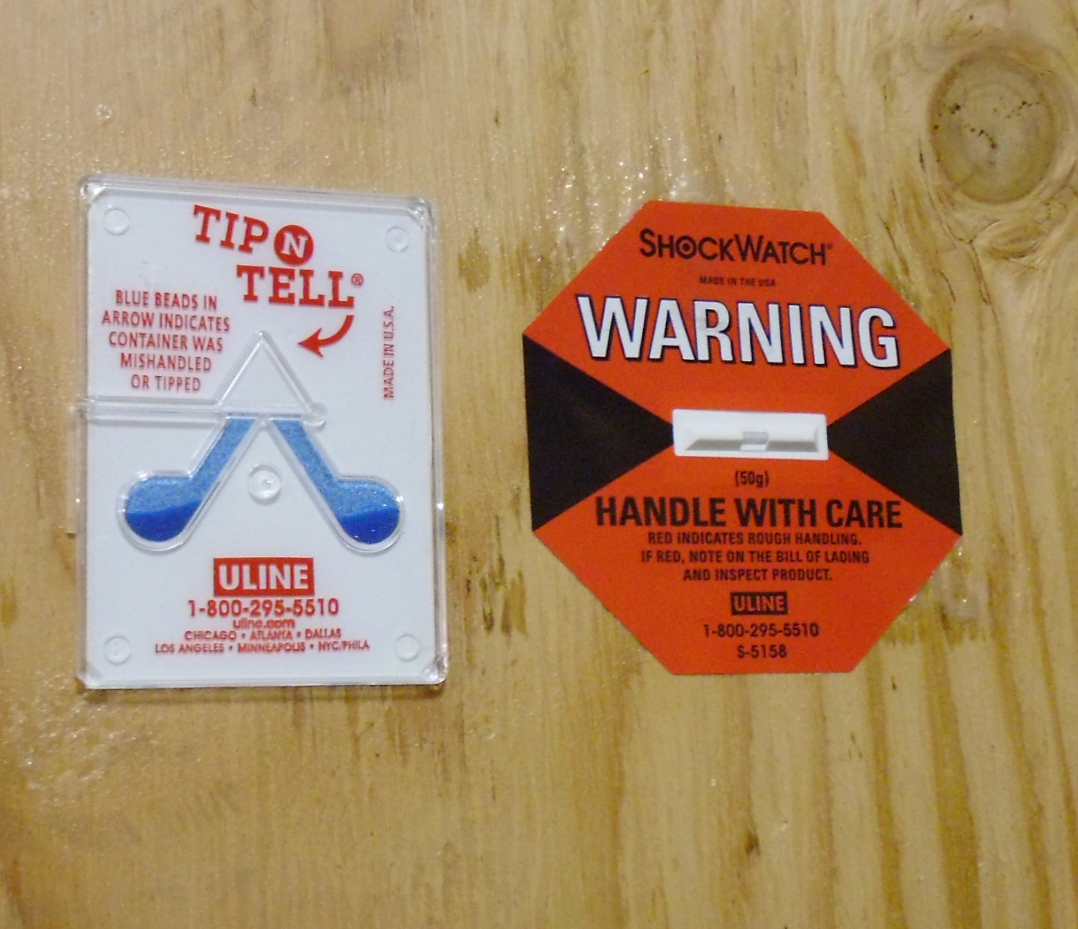 tip indicator for freight security